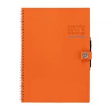 Блокнот Piquadro Stationery Оранжевый AR827P3_AR