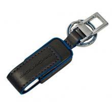 Брелок Piquadro Blue Square Серый AC2306B2_GR