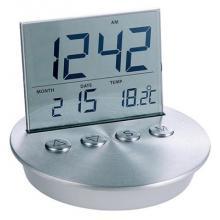 купить Часы/будильник Roswell, цвет Алюминий (LR88)