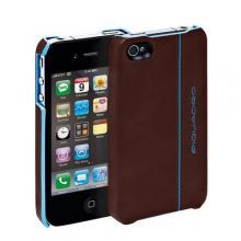 купить Чехол для iPhone 4 Piquadro Blue Square Коричневый AC2712B2_MO