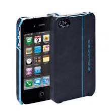 купить Чехол для iPhone 4 Piquadro Blue Square Синий AC2712B2_BLU2