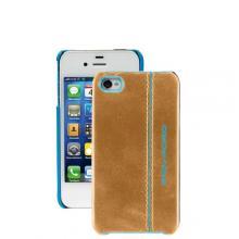 купить Чехол для iPhone 4 Piquadro Blue Square Коричневый AC2712B2_G2