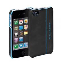 купить Чехол для iPhone 4 Piquadro Blue Square Черный AC2712B2_N