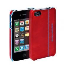 купить Чехол для iPhone 4 Piquadro Blue Square Красный AC2712B2_R