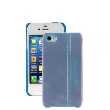 купить Чехол для iPhone 4 Piquadro Blue Square Синий AC2712B2_AZ3