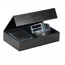 купить Подарочный набор Piquadro Blue Square Черный CUBOX02B2_N