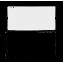 купить Оборотная доска для маркера ABC Office 90 x 120 см, алюминиевая рама