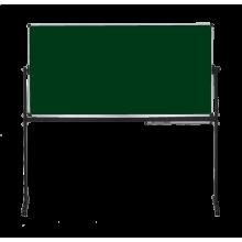купить Оборотная доска для мела ABC Office 90 x 120 см, алюминиевая рама