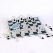 купить Игровой набор 3 в 1 - шашки, шахматы и карты. (СDJ 03-3)