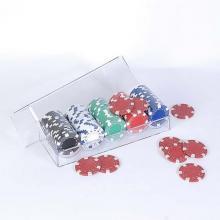 купить Набор для игры в покер (100 фишек в пластиковом кейсе) (100-S5)