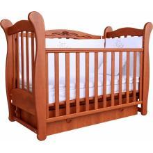 купить Верес кроватка детская Соня ЛД 15 ящик+маятник ольха