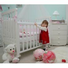 купить Верес кроватка детская Соня ЛД 12 белый (резьба лапки)