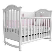 купить Верес кроватка детская Соня ЛД 3 белый с резьбой