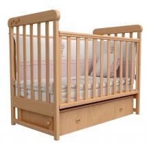 купить Верес кроватка детская Соня ЛД 12 ящик+маятник бук лапки
