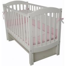 купить Верес кроватка детская Соня ЛД 10 белый (без ящика)