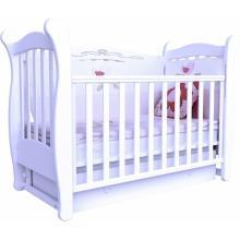 купить Верес кроватка детская Соня ЛД 15 ящик+маятник белый