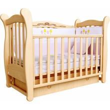 купить Верес кроватка детская Соня ЛД 15 ящик+маятник бук