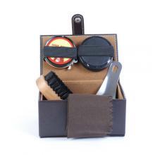 купить Набор для ухода за обувью Nova в коричневом прямоугольном футляре ( SY-008NGW)