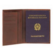 купить Обложка для паспорта Piquadro New Tamponato Коричневый PP1660TP_M