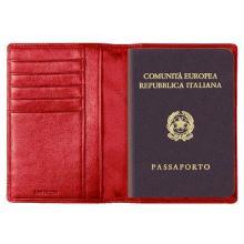 купить Обложка для паспорта Tavecchi Polo Красный WA1732-3