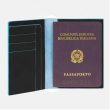 купить Обложка для паспорта Piquadro Blue Square Черный PP1660B2_N