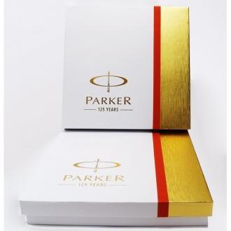 купить Набор Parker Urban Muted Black CT FP RB BP (перьевая ручка + роллер + шариковая ручка) - Ручки Parker (Паркер). Интернет-магазин ручек Parker. Купить в Киеве.