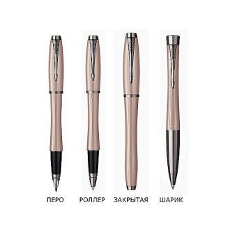 купить Набор Parker Urban Premium Metallic Pink FP BP (перьевая ручка + шариковая ручка) - Ручки Parker (Паркер). Интернет-магазин ручек Parker. Купить в Киеве.