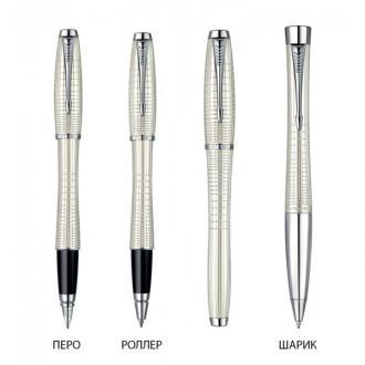 купить Набор Parker Urban Premium Pearl Metal Chiselled RB BP (ручка роллер + шариковая ручка) - Ручки Parker (Паркер). Интернет-магазин ручек Parker. Купить в Киеве.