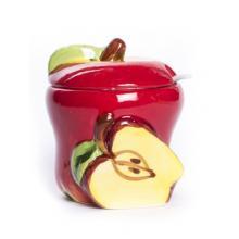 купить Керамическая сахарница яблоко (DEP1743a)