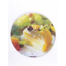 Доска для нарезки стеклянная круглая