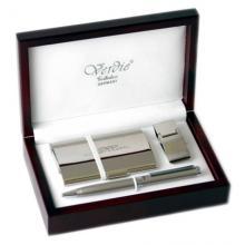 купить Набор Verdie в деревянном футляре (ручка + визитница + зажим для денег) (VE_8)