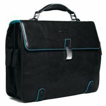 купить Портфель Piquadro Blue Square Черный CA1066B2_N