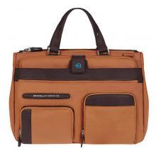 купить Портфель Piquadro Signo Оранжевый-Коричневый BD2969SI_ARTM