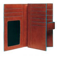 купить Портмоне Piquadro Blue Square Оранжевый PD1353B2_AR