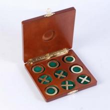 купить Набор игра Крестики-нолики в деревянной коробке (2072)