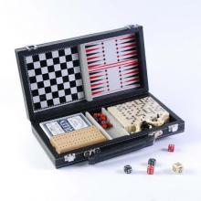 купить Набор из 6 игр: карты, домино, нард, шахмат, шашек (MUT06004)