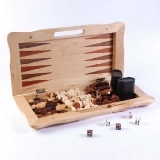 купить Набор из 3 игр: шахматы,нарды,шашки (бук) (AF1602-07)