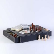 купить Набор из 5 игр : карты, шахматы, шашки, домино и крибидж (CHL05001)