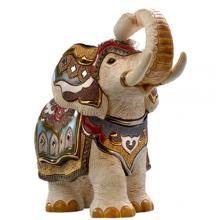 купить Фигурка De Rosa Rinconada Large Wildlife Слон Индийский Белый Dr457-21