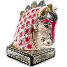 купить Фигурка De Rosa Rinconada Book End Конь Красный Dr01r-be
