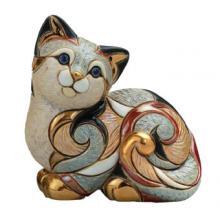купить Фигурка De Rosa Rinconada Families Кошка Пятнистая Отдыхающая Dr106f-81