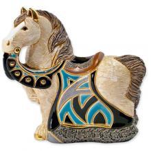 купить Фигурка De Rosa Rinconada Small Wildlife Конь Королевский Синий Dr016b-sw-47