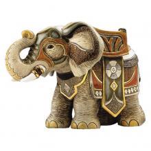 купить Фигурка De Rosa Rinconada Large Wildlife Слон Боевой Dr450-22