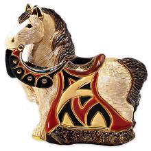 купить Фигурка De Rosa Rinconada Small Wildlife Конь Королевский Синий Dr016r-sw-47