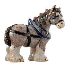 купить Фигурка De Rosa Rinconada Emerald Лошадь Золотая Dr1026-38