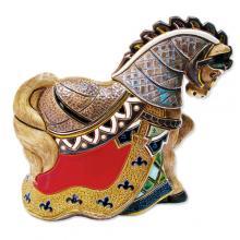 купить Фигурка De Rosa Rinconada Large Wildlife Конь Турнирный Dr442r-47