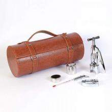 Винный набор коричневого цвета: штопор, пробка, термометр, резак, кольцо. (LCB-BB(5PC-11A)