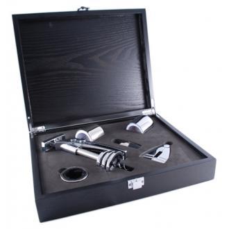 купить Винный набор: штопор, 2 пробки, резак, кольцо, винонаполнитель. CEBL(6PC-01A)
