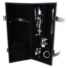Винный набор с отсеком для вина: штопор, пробка, термометр, резак, кольцо LCB-B01(5PC-11A)