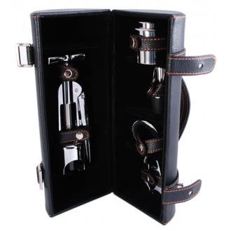купить Винный набор: штопор, пробка, резак, кольцо, винонаполнитель LCB-A(5PC-04A)